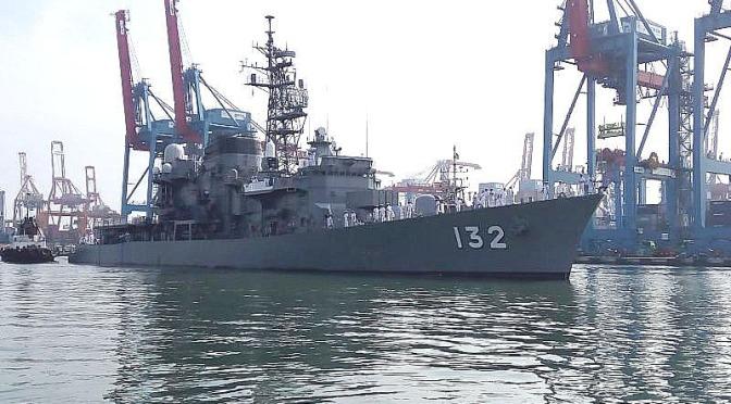 Menengok Dua Kapal Militer Pasukan Bela Diri Jepang