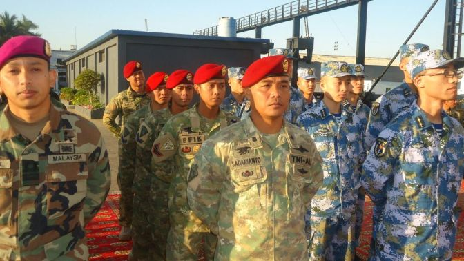 Kopaska Unjuk Kemampuan Bersama Pasukan Khusus Enam Negara