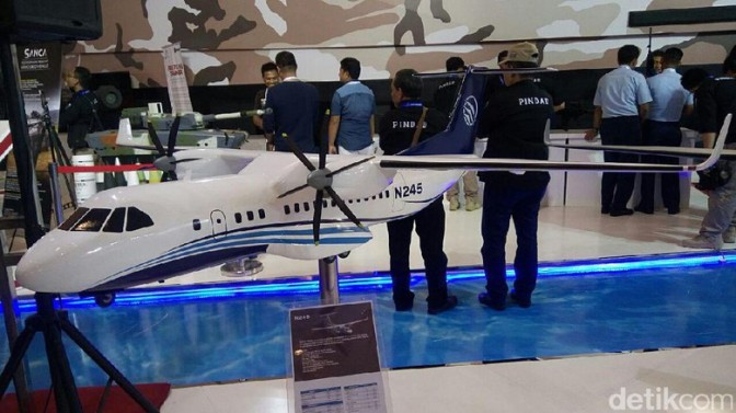 Proyek Pengadaan Pesawat N-245 dan R80 Butuhkan Investasi Rp 20 T