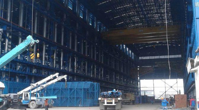 Progres Pembangunan Galangan Kapal Selam PT PAL Part 6 (foto)