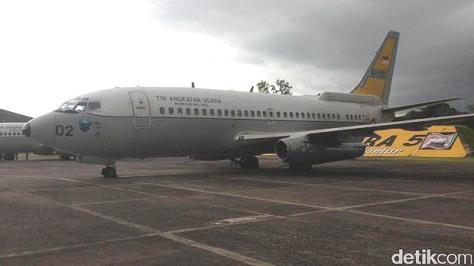 Boeing 737-200 Intai (detik)