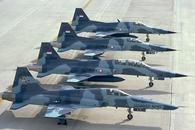 Pengganti F-5 TNI AU Masih Belum Jelas Hingga Kini