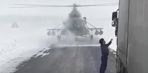 Helikopter Mi-8 Kazahstan