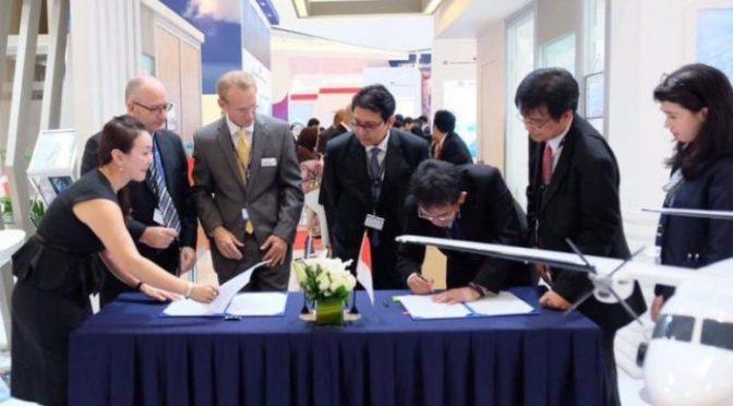 Honeywell Tandatangani Kontrak Penyediaan 34 Mesin Pesawat dengan PTDI