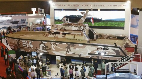 Indo Defence 2016 Tank Boat (IHS Jane)