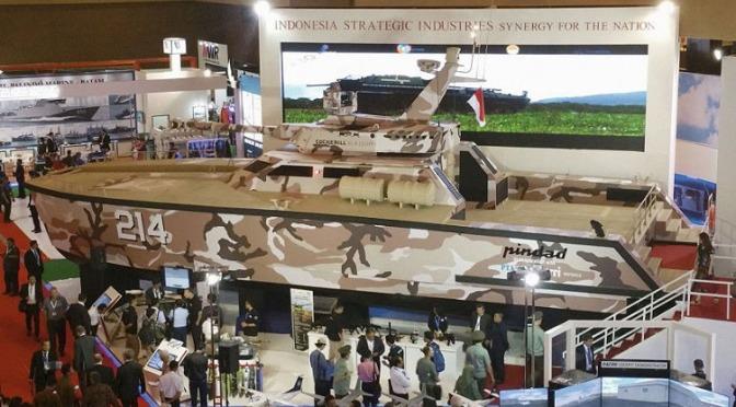 UEA Akan Membeli Senjata dan Tank Boat PT Pindad