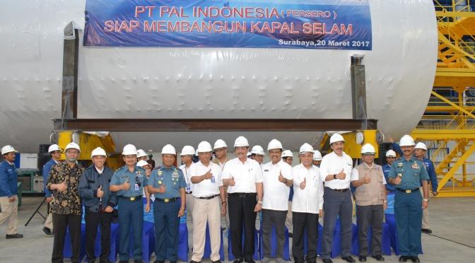 PT PAL Ajukan Penambahan PMN Rp1,29 T Untuk Industri Kapal selam