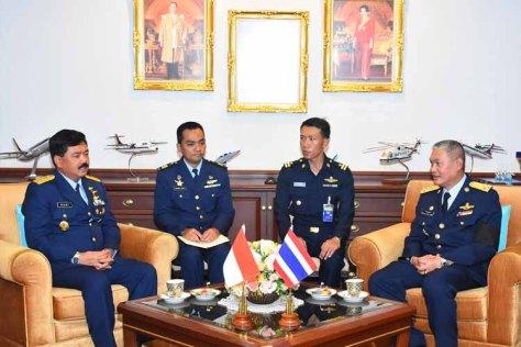 Kasau cc dengan CinC RTAF (TNI AU)