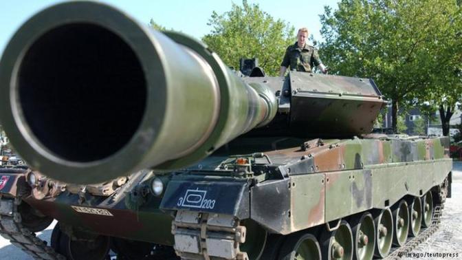Berlin Blokir Izin Penjualan Senjata ke Ankara
