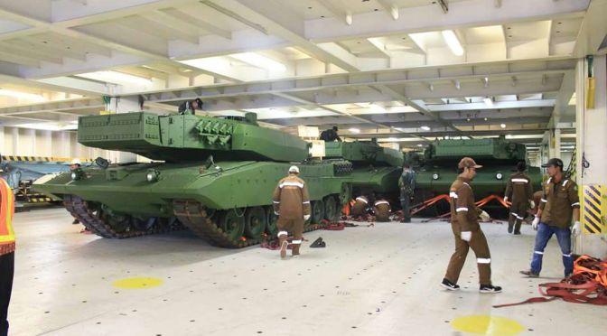 TNI AD Akan Membeli Beberapa Tank Leopard Tambahan