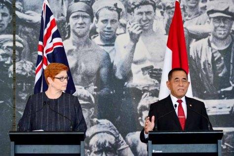 Menteri Pertahanan RI dengan Australia Pada Defence Ministers_ Meeting