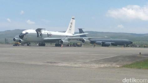 Pesawat Amerika Jemput 14 Kru di Aceh (detik)