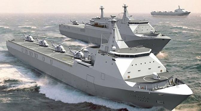 Nigeria Tertarik Kapal Perang Buatan PT PAL