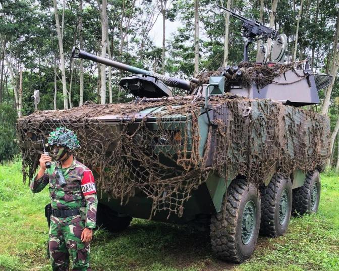 Penambahan Artileri Pertahanan Udara dan Detasemen Kaveleri di Riau