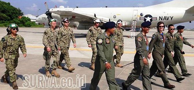 Prajurit TNI AL dan AS Berbagi Ilmu Patroli Maritim