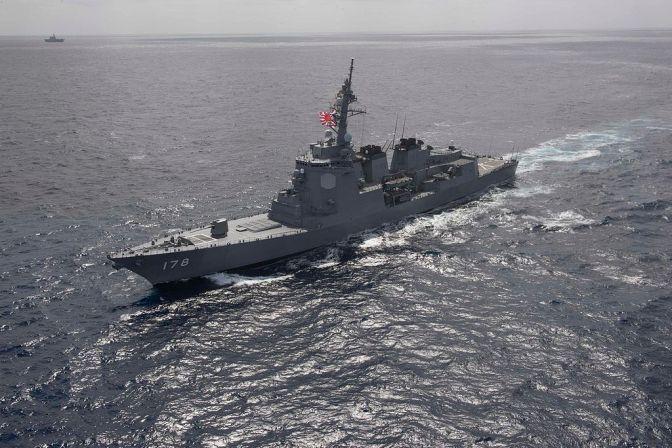 Dua Kapal Perusak Milik Jepang Gabung USS Carl Vinson