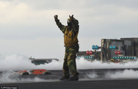 Carl Vinson Strike Group is participating in the annual joint Foal Eagle exercise (AFP)