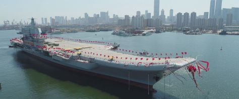 China launches 1st domestically-made aircraft carrier (ABC News) OEM