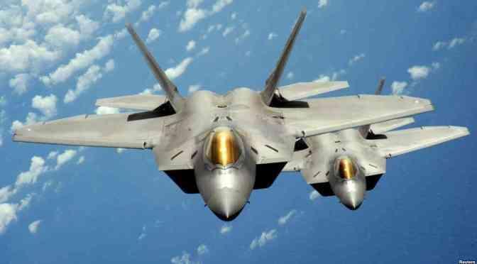 F-22 Raptor Cegat Pesawat Pengebom Rusia di Alaska