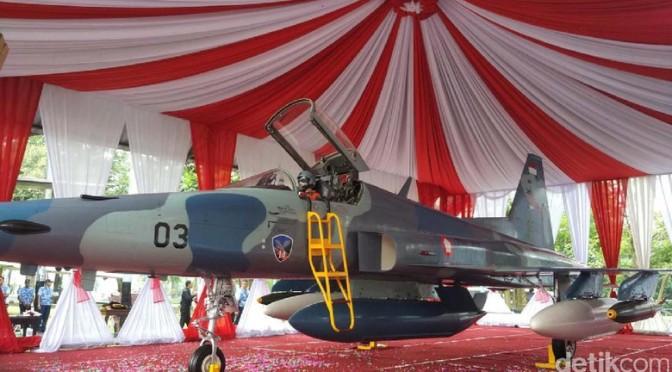 F-5 E/F Tiger II TNI AU Akhirnya Dimuseumkan