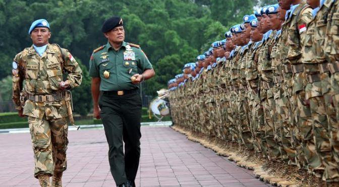 Yonif Para Raider 433 Kostrad Tergabung Dalam Kontingen Garuda