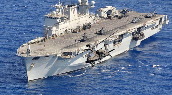Akankah HMS Ocean Menemukan Pembeli di Asia?