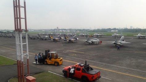 jet tni-52 dalam HUT ke 71 tahun 2017 (TNI AU)