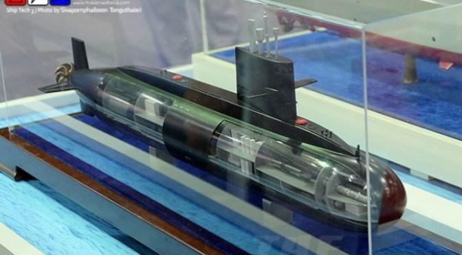 Kabinet Thailand Setujui Pembelian Kapal Selam Kelas Yuan S26T