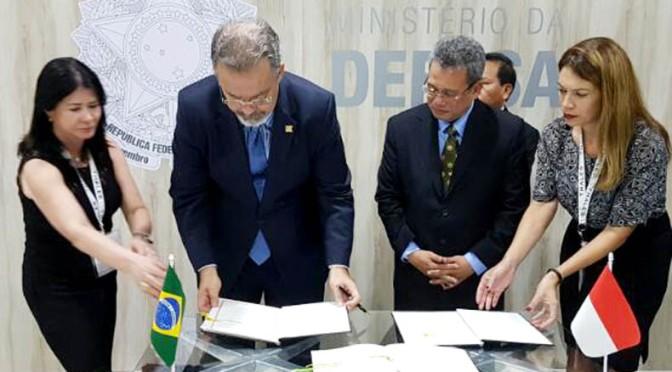 Kerjasama Pertahanan RI-Brazil Telah Resmi Ditandatangani