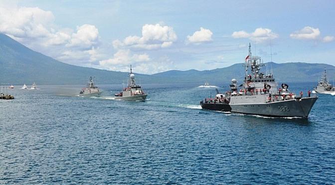Koarmabar Gelar Latihan Tempur di Perairan Sisi Barat Indonesia