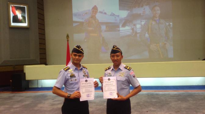 Selamatkan Sukhoi, Pilot TNI AU Dapat Penghargaan 'Welldone'