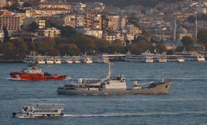 Kapal Mata-Mata Rusia Tenggelam di Laut Hitam