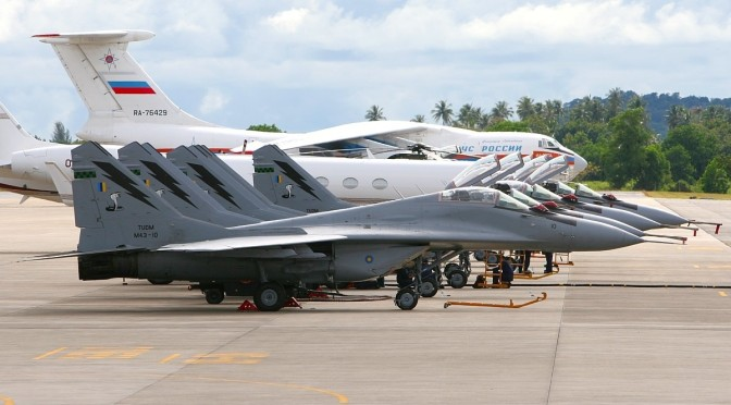 India Minat Beli Pesawat MIG-29 TUDM
