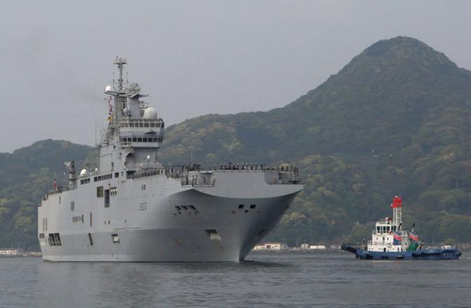 Mistral Prancis Tiba di Jepang