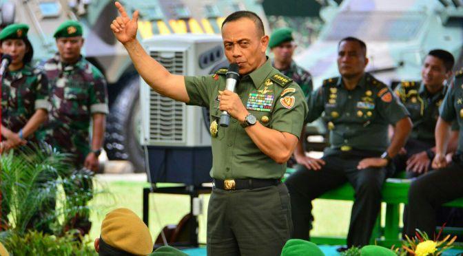 Jenderal TNI Mulyono Sebutkan Dua Ancaman Terhadap Indonesia