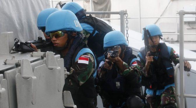 Pasukan Satgas MTF TNI Konga XXVIII – J Unifil Libanon Laksanakan Harbour Phase