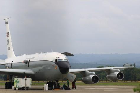 Pesawat Amerika Jemput 14 Kru di Aceh (RRI)