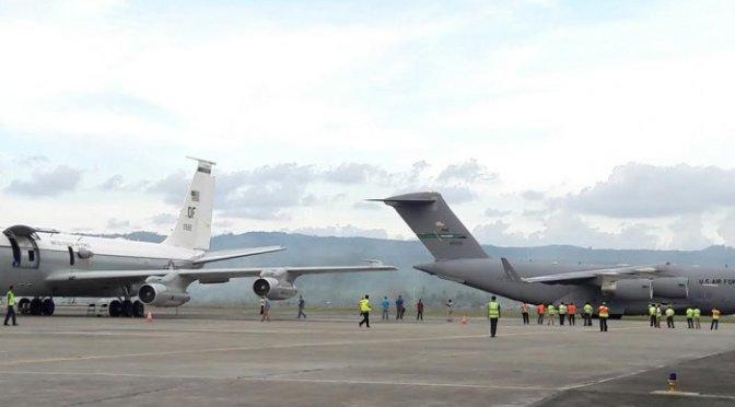 Pesawat Militer AS Kembali Mendarat di Aceh