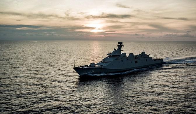 Kapal Perang 'Stealth' Buatan PT PAL