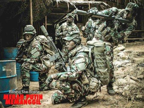 Prajurit TNI dalam Merah Putih Memanggil