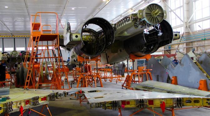 Upgrade Su-27/ 30 oleh '558 Aircraft Repair Plant'