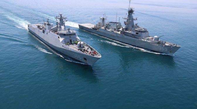 Satgas Maritime TNI Konga XXVIII – J Laksanakan Latihan Sea Phase