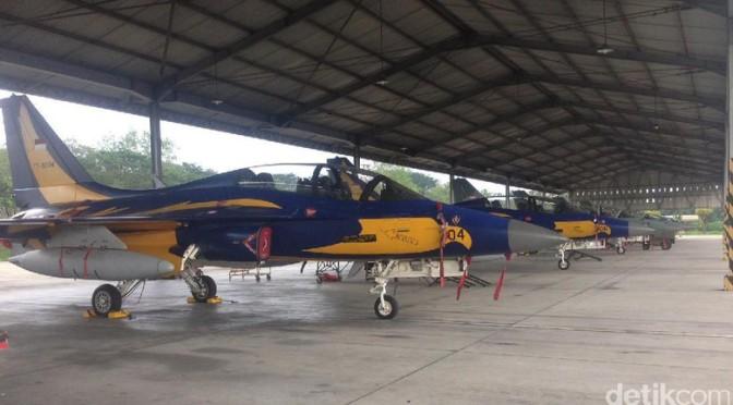 Melongok Pesawat Tempur TNI AU di Lanud Jawa Timur