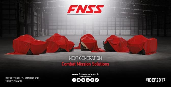 FNSS Akan Pamerkan Platform Darat Generasi Baru di IDEF 2017