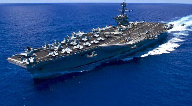 USS Carl Vinson Masuk Selat Sunda Atas Izin Pemerintah RI