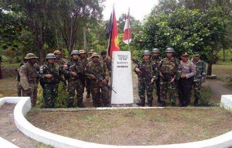 Yonif PR 503 Kostrad Jaga Perbatasan RI – PNG