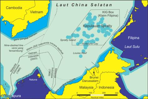 ZEE Indonesia - Vietnam (batasnegeri)