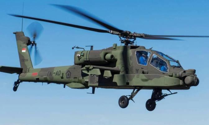 Dukungan Layanan Pasca Produksi untuk Delapan AH-64E Apache Indonesia