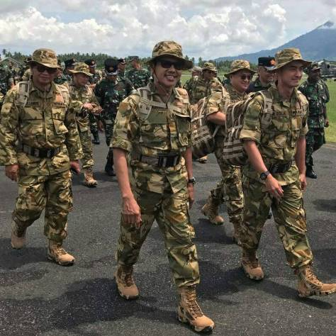 Gubernur Dilatih Militer (JPNN)