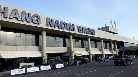 Hang Nadim Airport in Batam, Riau Islands. (JP)